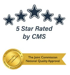 Image of 5 star rating by CMS